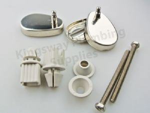 Carrara & Matta Millie Toilet Seat Top Inox Hinge Pack